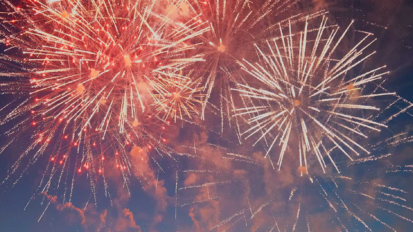Shrewsbury Flower Show Fireworks