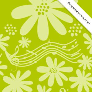 2019 Flower Show Programme Voucher