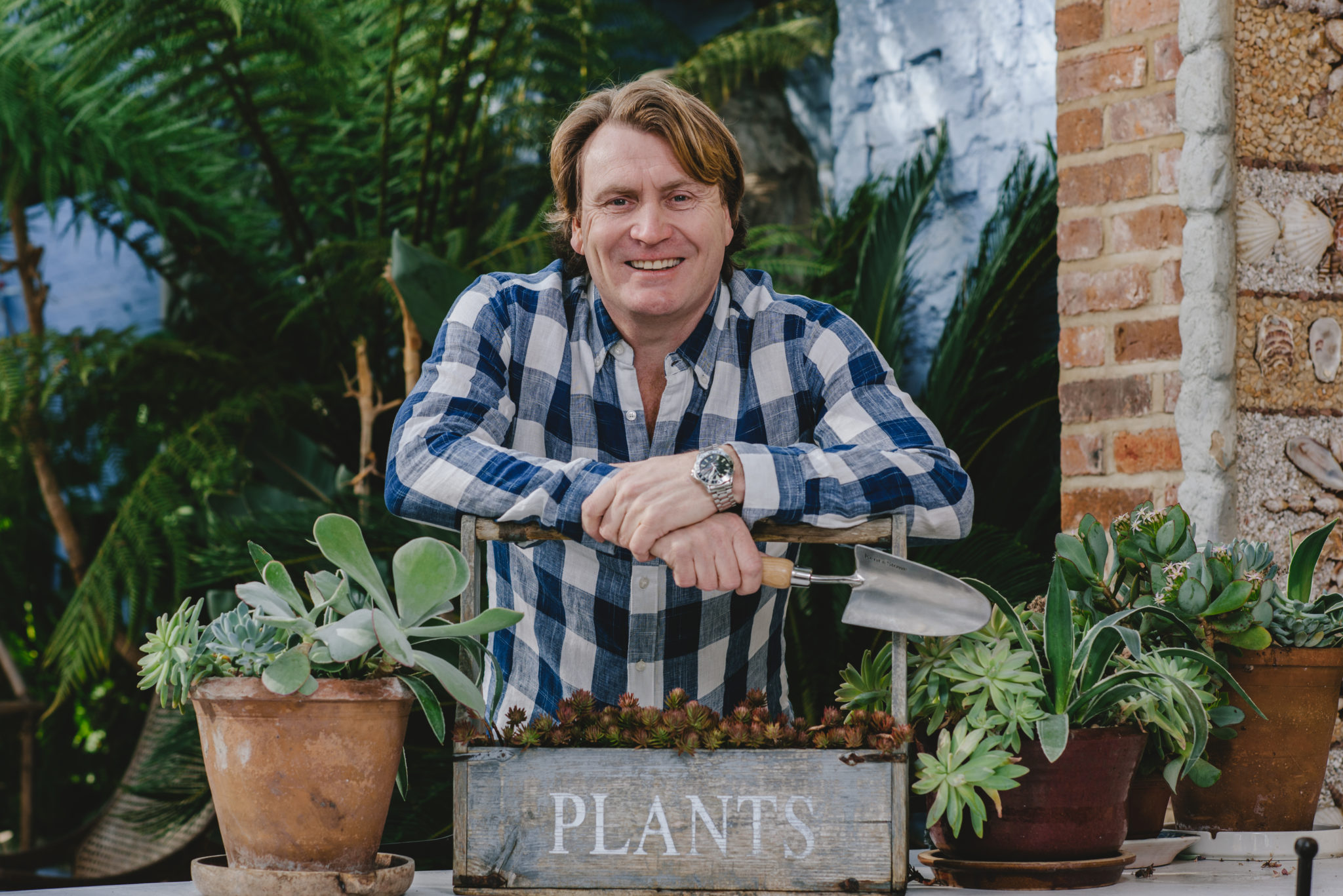 Gardener David Domoney to appear at the Flower Show